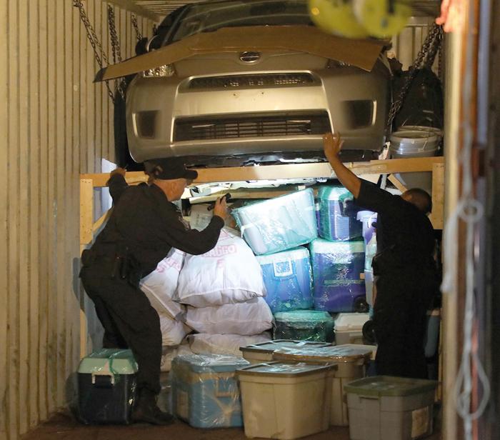 Stolen-Car Epidemic  Hits Port
