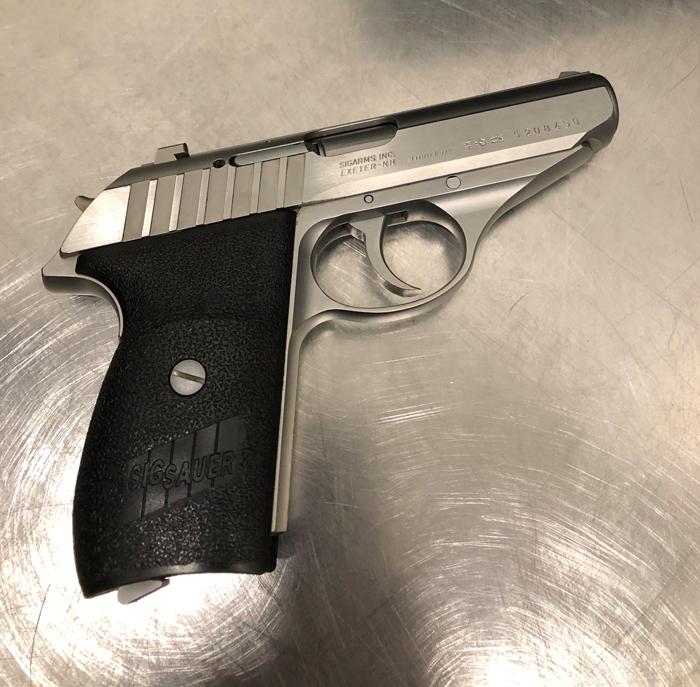 TSA Catches Gun  in Carry-On
