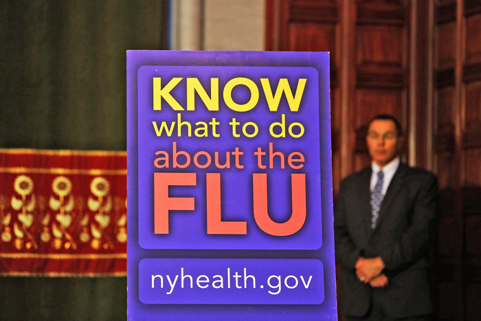 Record Number of  Flu Cases in NY