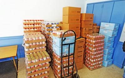 Ulrich Organizing  Food Drive