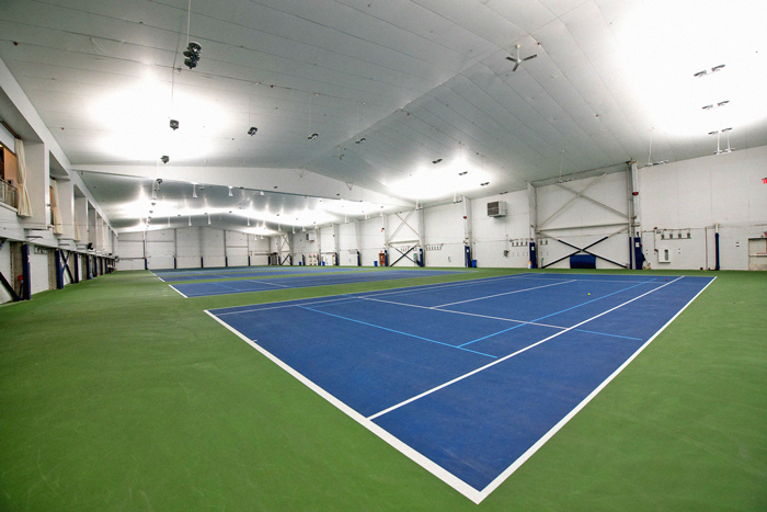 Photo Courtesy of Michael Appleton/Mayoral Photography Office On Tuesday, Mayor Bill de BlASIO announced a new temporary hospital facility at theBillieJean King Tennis Center in Flushing Meadows Corona Park.