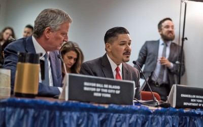 De Blasio Decides to Shutter City Schools