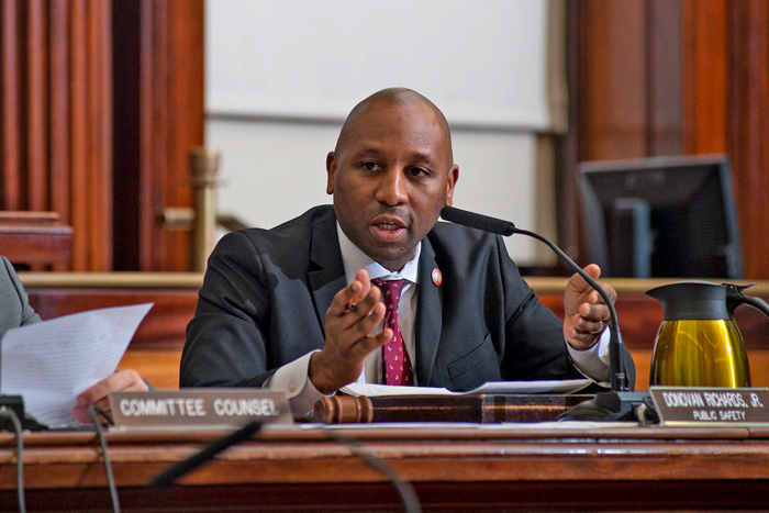 Richards Rips Social-Distancing Enforcement