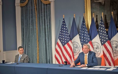 De Blasio, Carranza Tout School  Reopening Plans for Fall 2020