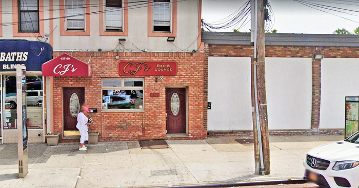 Photo Courtesy of Google CJ's Bar and Lounge in Ozone Park was among the 12 bars that recently lost its state liquor license.