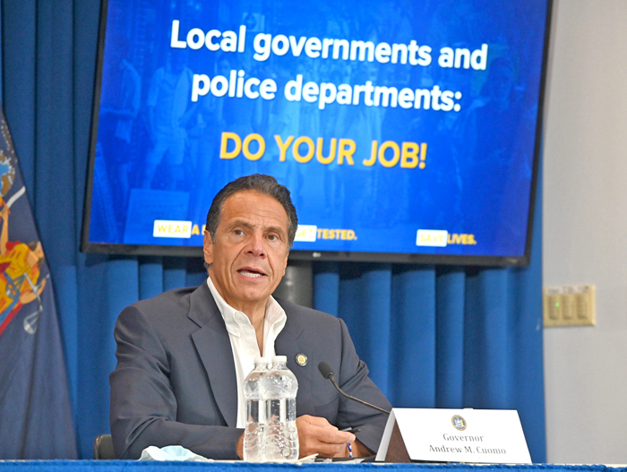 Cuomo Updates New Yorkers on COVID-19 Pandemic as NYC Enters Phase 4 of Reopening