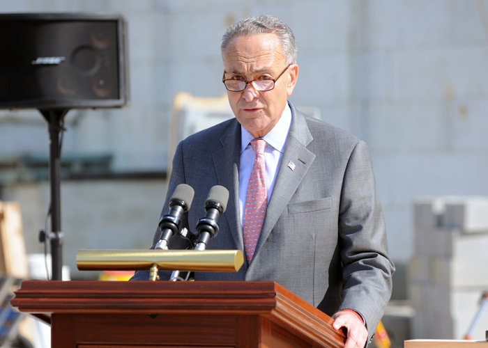 "File Photo ""We have to protect the election, the mail itself, and hold this postmaster accountable,"" Sen. Schumer said."