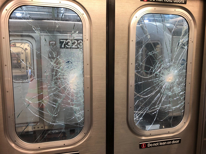 MTA: $10K for Info on Train Vandals