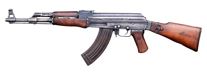 Photo Courtesy of Wikipedia/DOD A loaded AK 47 assault rifle was allegedly recovered from Montero's College Point residence.