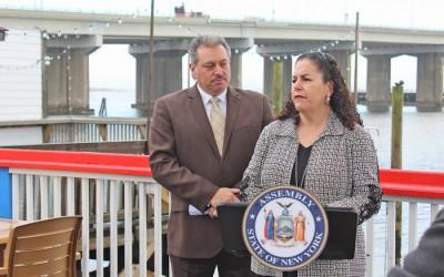 Area Pols Laud Importance of Cross Bay Veterans Memorial Bridge Rockaway Resident Rebate