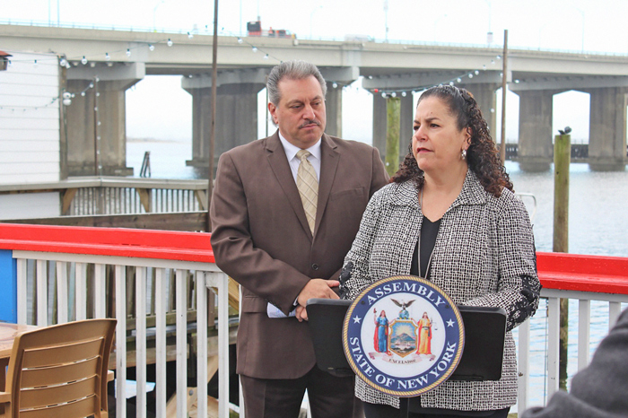 Area Pols Laud Importance of Cross Bay Veterans Memorial Bridge Rockaway Resident Rebate