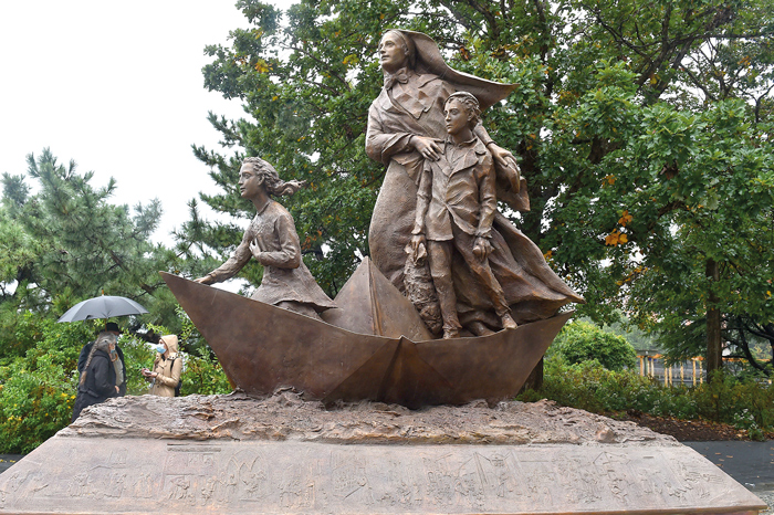 Finally: Mother Cabrini Memorial  Unveiled in Battery Park City
