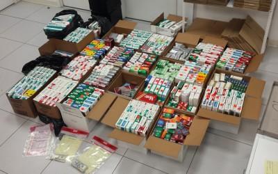 Cigarette Smuggler to Forfeit $1.3M