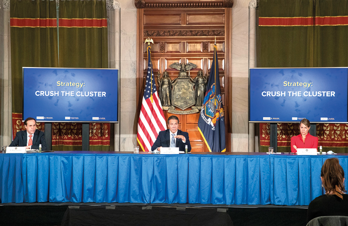 State will Withhold Funds for Localities, Schools in Virus Cluster Zones that Fail to Enforce Laws: Cuomo
