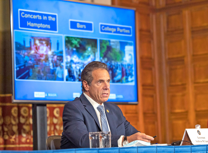 New Cuomo Initiative Maps Clusters by Density ofCases to Address COVID-19 Hot Spots Bursting inQueens and Brooklyn
