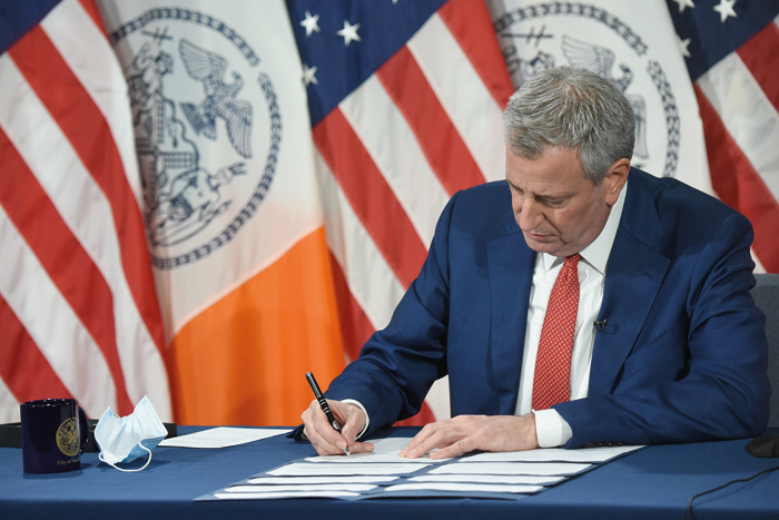 Mayor Signs Package of Bills into Law