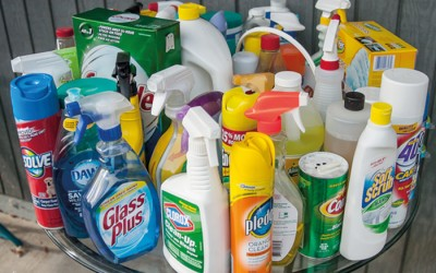 AROUND THE HOUSE Recognize potentially dangerous household chemicals