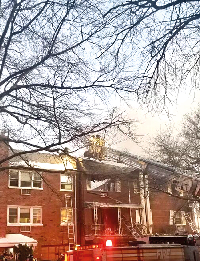 Elmhurst Inferno Claims Three Lives,  Injures Two Bravest