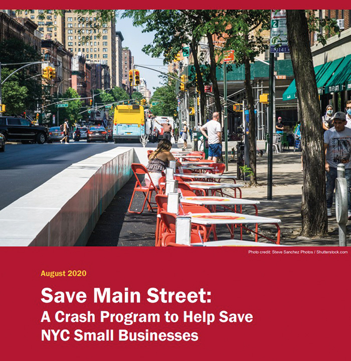 Photo Courtesy of Comptroller Stringer's Office Stringer's August 2020 Save Main Street report found thatmore than2,800 small businesseshadpermanently closedbetween March 1 and July 10,including at least 1,289 restaurants and 844 retail businesses.