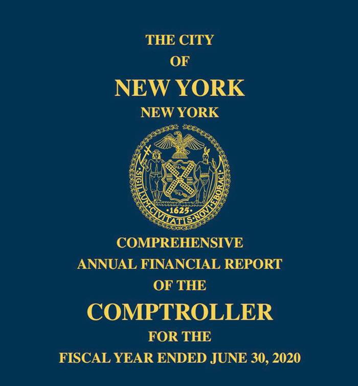 Photo Courtesy of Comptroller Stringer's Office The majority of the data in the PAFR comes from the Comptroller'sComprehensive Annual Financial Report.