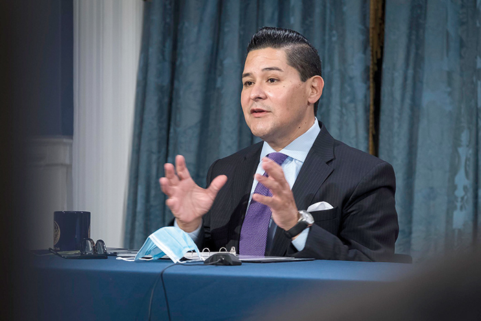 """""""Getting our kids back in school buildings is one of the single most important things we can do for their wellbeing, and it's so important that we do it right,"""" Chancellor Carranza said."""