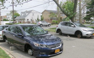Street Crew Busted for Stealing Tires and Rims from Cars in more than a Dozen Queens Communities
