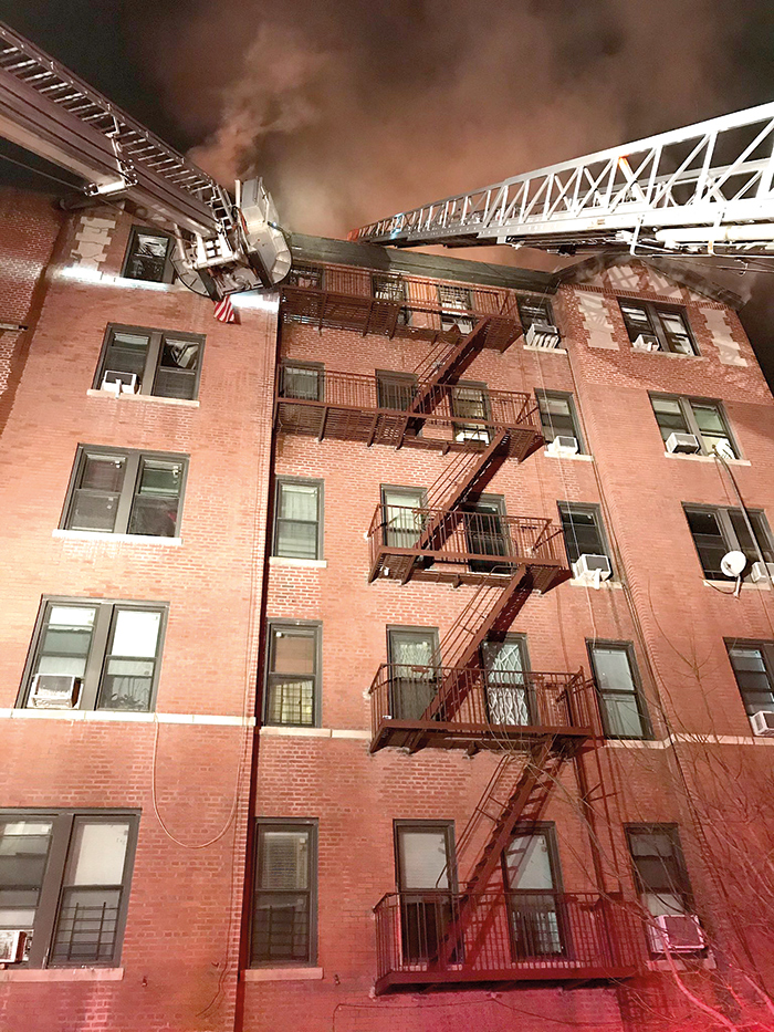 Photo Courtesy of City Office of Emergency Management 2020 marked the 15th consecutive year there have been fewer than 100 fire-related deaths in the five boroughs.