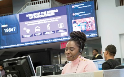 City Handled Record 23.5M 311 Calls in 2020