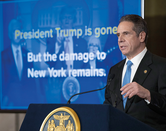 Cuomo Looks to Jumpstart Economy with $192.9B Executive Budget
