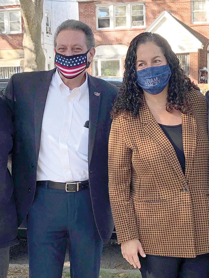 File Photo State Sen. Joe Addabbo, Jr. and Assemblywoman Stacey Pheffer Amato