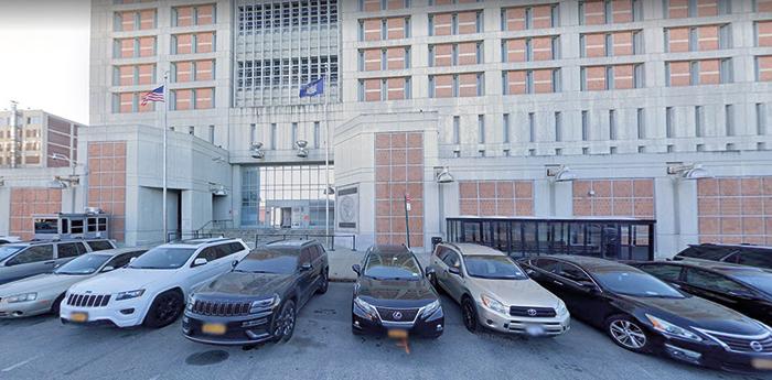 Photo Courtesy of Google As of Sunday night, Borrello calls Metropolitan Detention Center home.