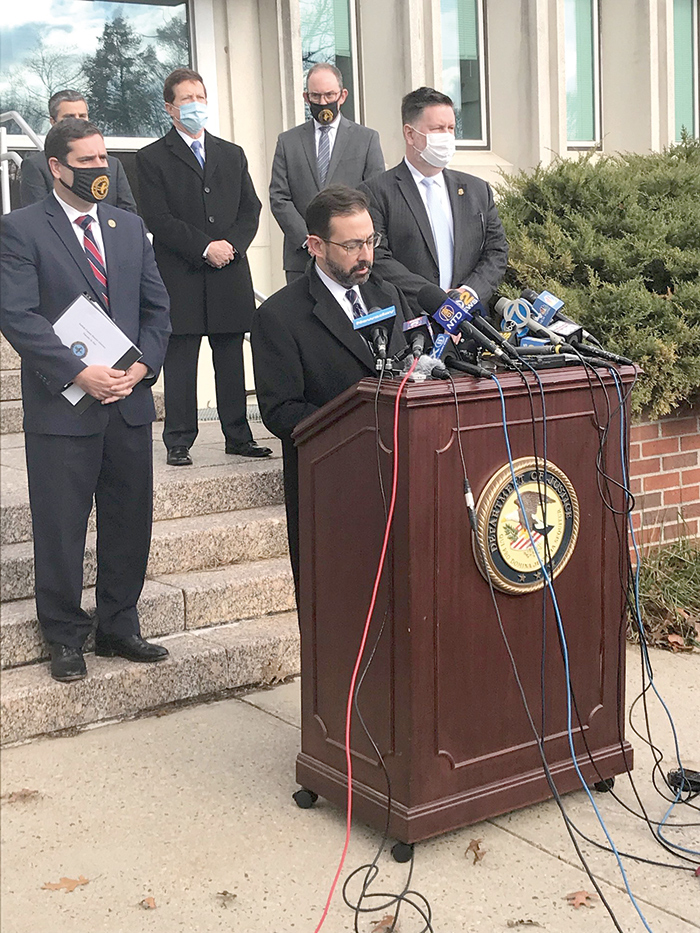 """File Photo """"As alleged, Ginestri, a buildings inspector who was entrusted with protecting public safety at city construction sites, instead exploited his position to line his pockets with a cash bribe,"""" said Acting Brooklyn U.S. Attorney DuCharme."""
