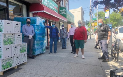 Ulrich, GrowNYC Distribute 55,000+ Meals at Weekly Food Drives