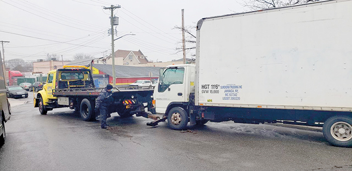 After Residents Complain,  Cops Tow Truck