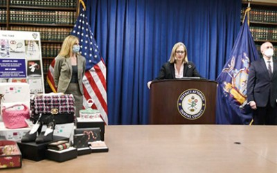 Fifth Indicted Defendant Apprehended and Charged  in JFK Luxury Goods Heist