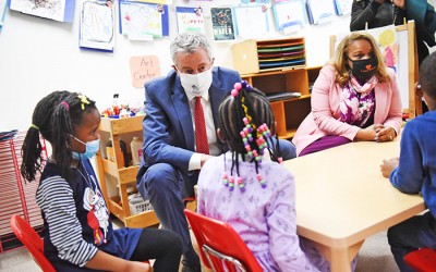 Mayor, Schools Chancellor Laud  $130M Restoration to School Budgets