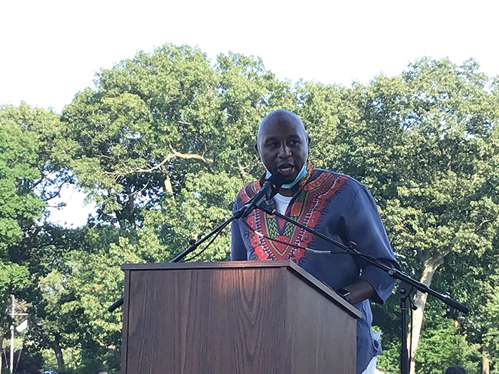 'Queens Leads, Queens is Rising' Richards Delivers First State of the Borough Address