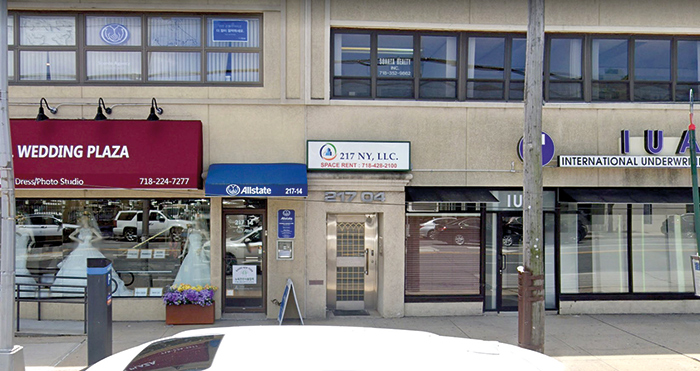 Photo Courtesy of Google Kang's Queens office was located on Northern Boulevard in Bayside.