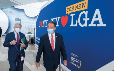 LaGuardia Outer Roadway Network Completed